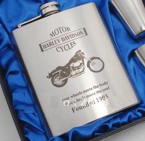 Jual Hip Flask 7oz Harley Davidson