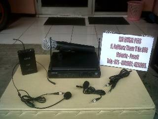 Jual Microphone Wireless  SHURE - SENNHEISER - BEYER - ASHLEY  (Original)