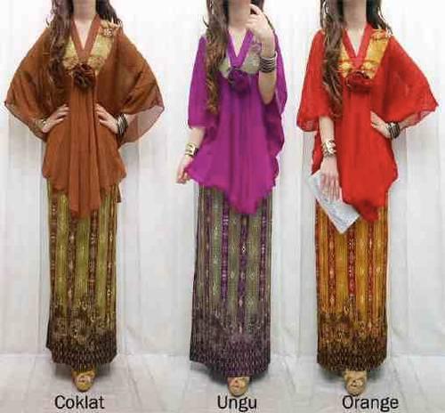 "New Arrival And High Quality Fashion"" Stelan Kebaya songket sifon IDR ..."