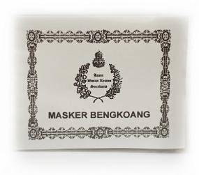 Jual Masker Bengkoang