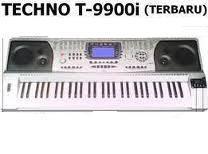 Jual keyboard piano organ techno T 9900 i