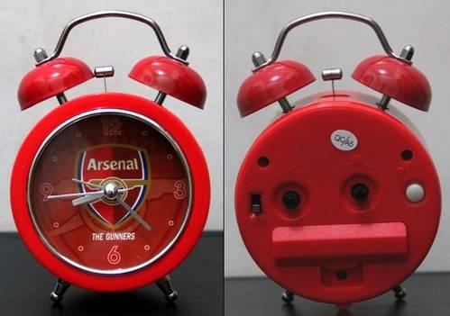 Jual Jam Weker Arsenal