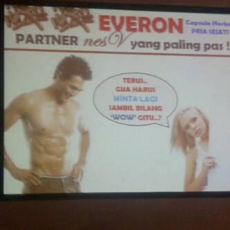 Jual Cara meningkatkan stamina pria dengan EVERON, Herbal khusus Pria Dewasa 100...
