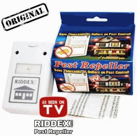 Jual Alat Pengusir Tikus dan Serangga Elektrik Riddex plus
