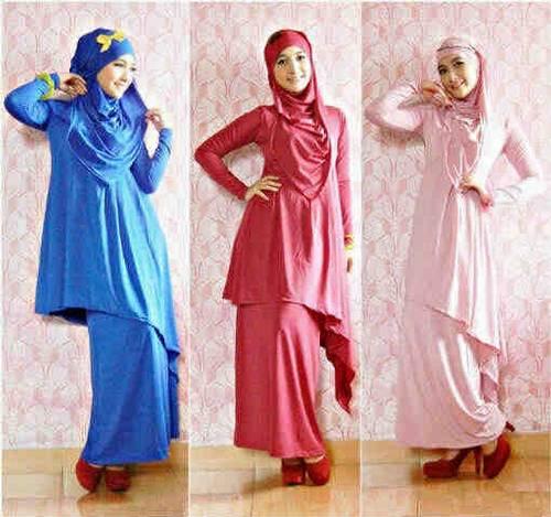 Jual baju hijabers modern dinomarket pasardino arabel Baju gamis pesta lazada