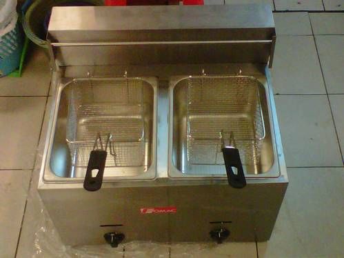 Jual Deep Frying / Mesin Penggoreng Model Electric atau Gas