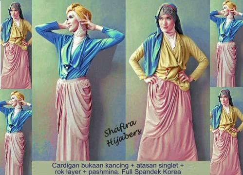 Dinomarket Pasardino Shafira Hijabers Dress Modern