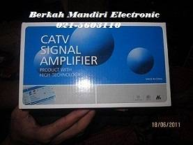 Jual booster tv / catv amplifier penguat signal