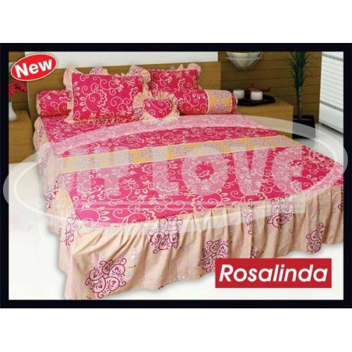 Jual SPREI MY LOVE RBB (RUMBAI BANTAL BUSA)