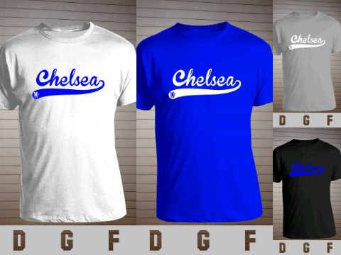Jual [Ready Stock] Kaos CHELSEA - BASEBALL STYLE Export Quality Polyflex Printed