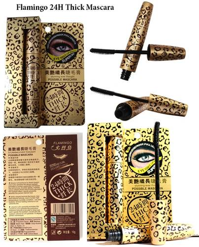 Jual FLAMINGO LEOPARD - 24 Hour THICK MASCARA