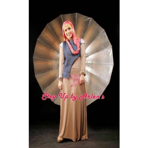 Jual BUSANA MUSLIM STEP UP BY ARLEN CHA AMALIA RAYON SOFT JEAN