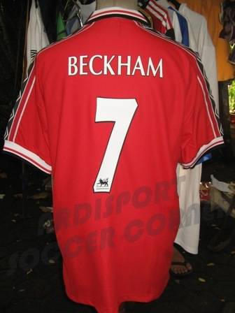 Jual [Ready Stock] Jersey Retro MAN UNITED TREBLE WINNER Season 1999