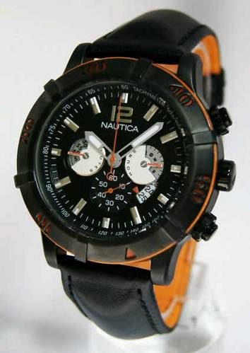 Jual NAUTICA 59-G563 BLACK ORANGE