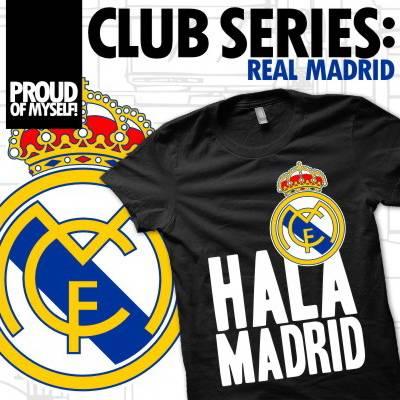 Jual KAos Bola Club Series: Madrid