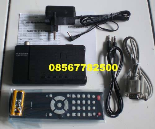 ... Product Jual TV Tuner Gadmei for PC CRT/LCD/LED (bisa DVD/Decoder