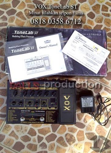 Jual Efek Gitar Digital VOX ToneLab ST