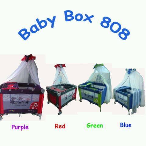 Jual Baby box/ranjang bayi pliko creative b808r ada 4 warna.Bisa kirim ke kota m...