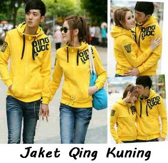 Jual jaket couple, qing couple