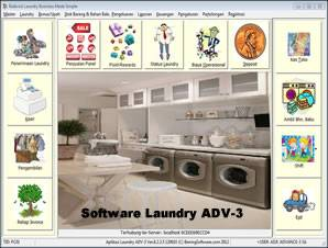 Jual software laundry murah
