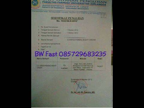 Jual PAKET EXCLUSIVE BE WHITENING FAST (BW FAST) / TC SKIN PROMO