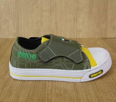 Jual Sepatu anak Ben 10 dengan lampu BC-5003BG