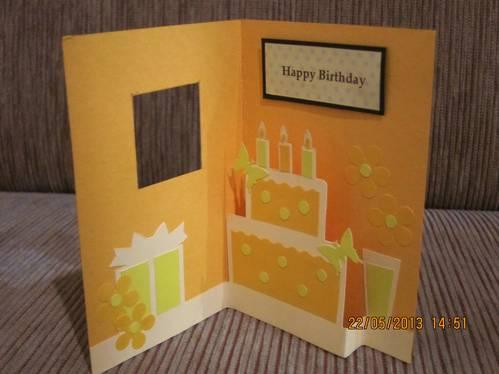 cara membuat kartu ucapan ulang tahun unik