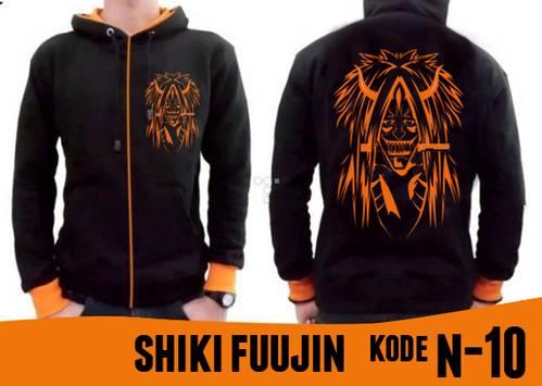 Jual Jaket Anime Naruto - Dewa Kematian - Shiki Fuujin