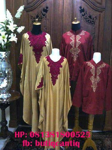 Direct Link for Product Jual Family Set 4 Baju (Kaftan Bordir 04 ) :
