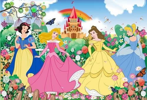 Jual Stiker dinding princess
