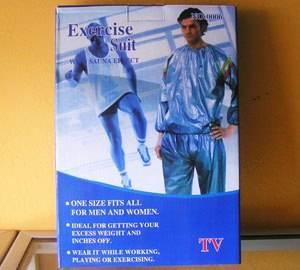 Jual Baju Sauna Exercise Suit - Baju pelangsing untuk membakar lemak tubuh