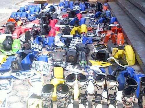 Jual jual segala limbah Se magnet racing carburator body set up side ragka down...