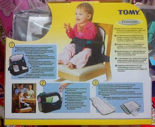 Jual Tomy Freestyle 3 In 1 Booster & Baby Chair - Kursi Pendukung ...