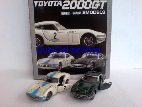 Jual Tomica Limited Toyota 2000 GT 2Models