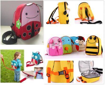 Jual Skiphop Zoo Let Mini Backpack + Harness