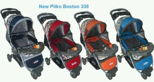 Jual Stroler/Kereta Bayi Pliko PK338 Boston Roda Tiga.Bisa kirim via expedisi ke...