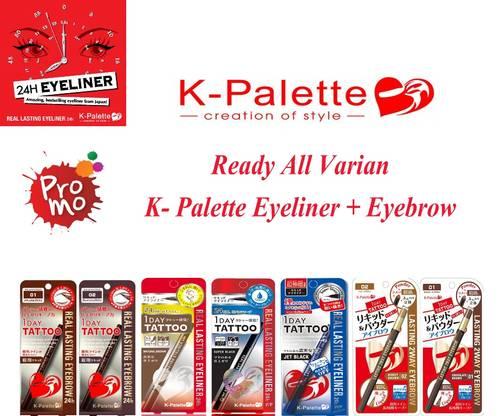 Jual All Varian K-Palette Eyeliner + Eyebrow