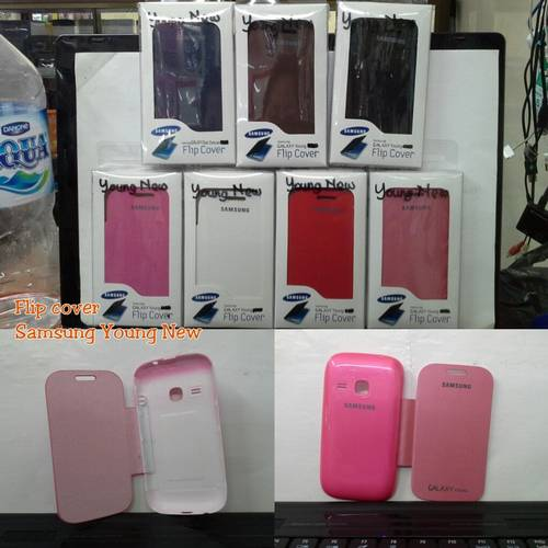 Jual flip cover samsung young new S6310 - S6312