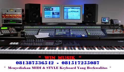 Jual MIDI DAN STYLE UNTUK SEMUA MEREK DAN TYPE KEYBOARD DALAM USB