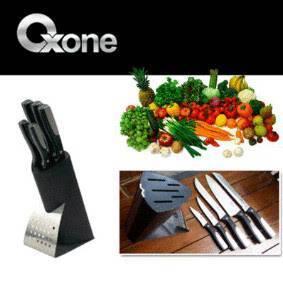 Jual OX-972 Pisau Dapur Knife Block Set Oxone, Pisau Dapur Murah, Pisau Oxon