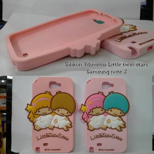 Jual Silikon 3D Little Twin Stars Samsung Galaxy Note 2