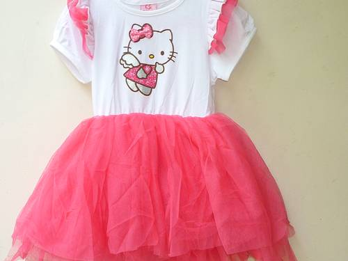 Dinomarket Pasardino Dress Anak Hello Kitty Angel Tutu