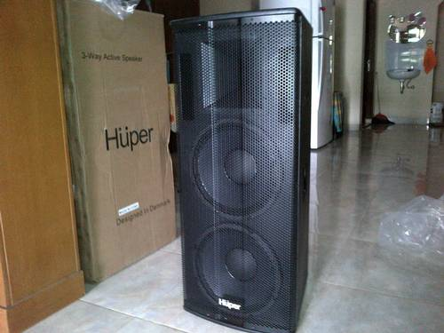 Jual ACTIV SPEAKER 3 WAY HUPER HZ212A 1100 WATT X 2