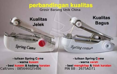 Jual Mesin Jahit Tangan Mini Lok. Surabaya - Sidoarjo