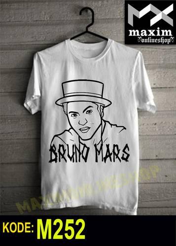 Jual Kaos Bruno Mars
