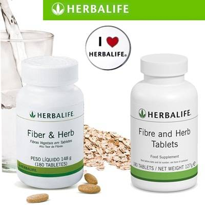 DINOMARKET : PasarDino™-Herbalife Fiber And Herb Tablets ...