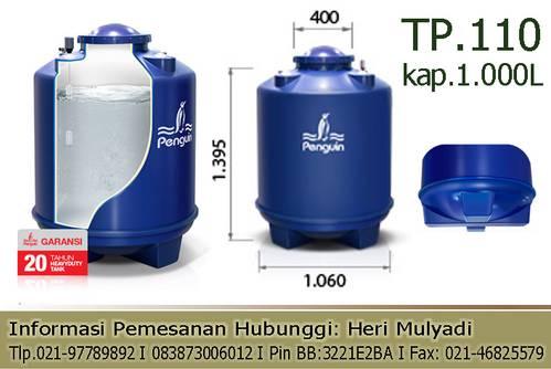 Jual Ground tank Penguin 1000 liter (heavyduty)