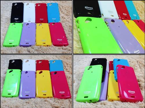 Jual jual softcase Gel silicone Case Sony Ericsson Xperia Arc - Arc S
