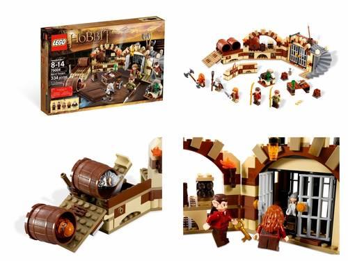 Jual LEGO # 79004 THE HOBBIT_BARREL ESCAPE