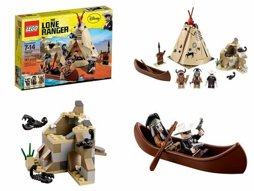 Jual LEGO # 79107 THE LONE RANGER_COMANCHE CAMP